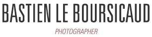 Bastien Le Boursicaud, Photographer
